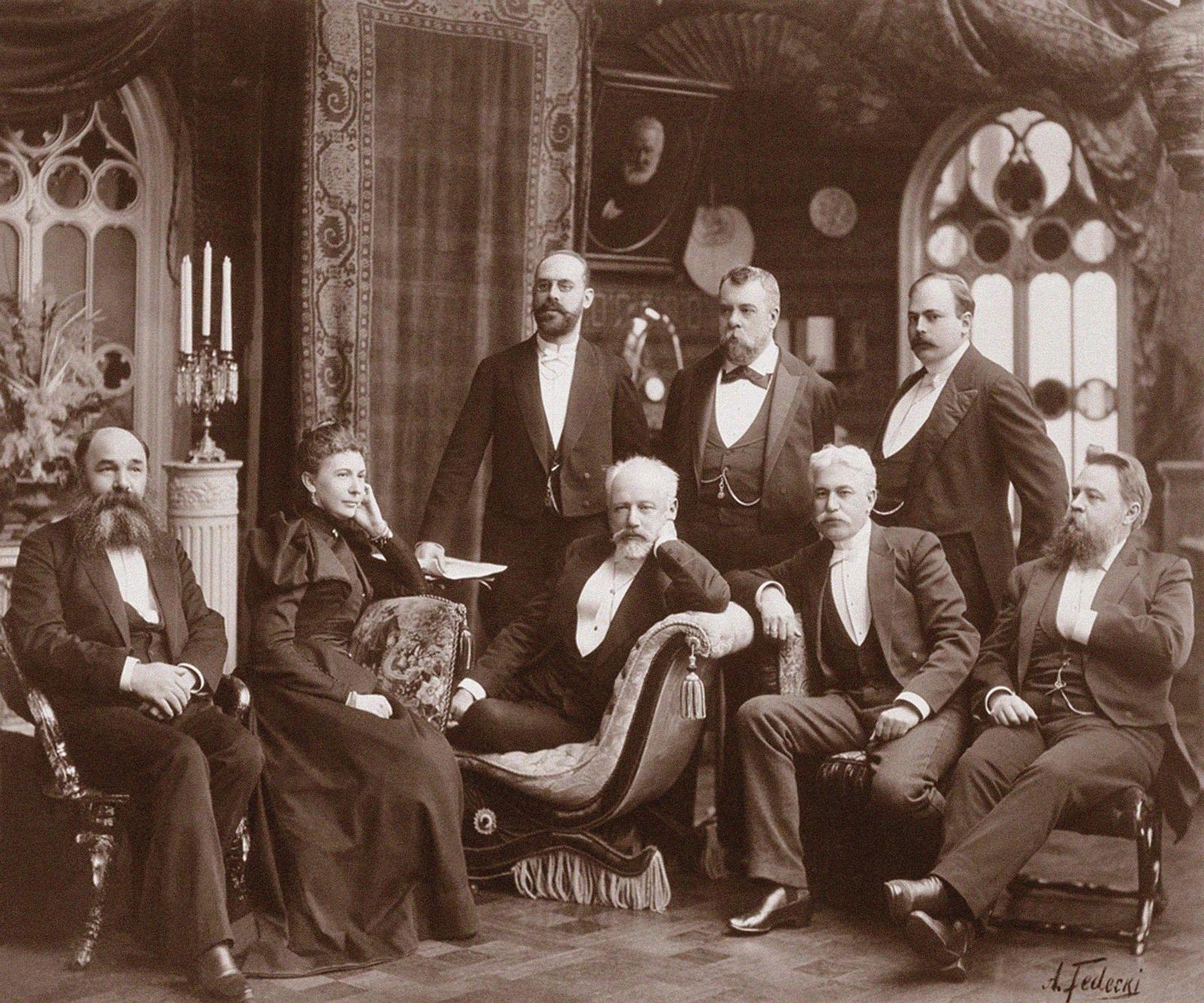 1893. Петр Ильич Чайковский (1840-1893) в Харькове,