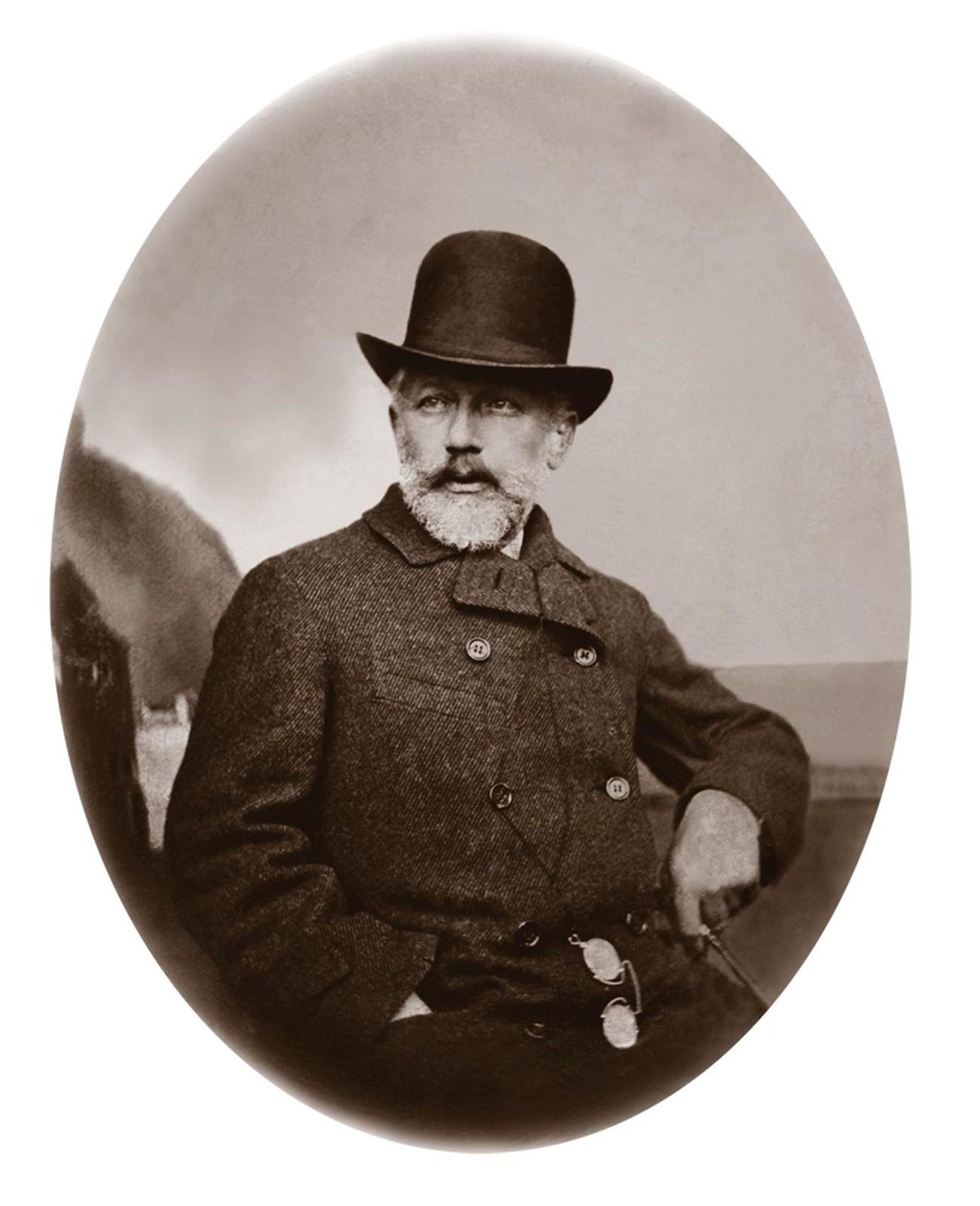 1877. Петр Ильич Чайковский в Швейцарии