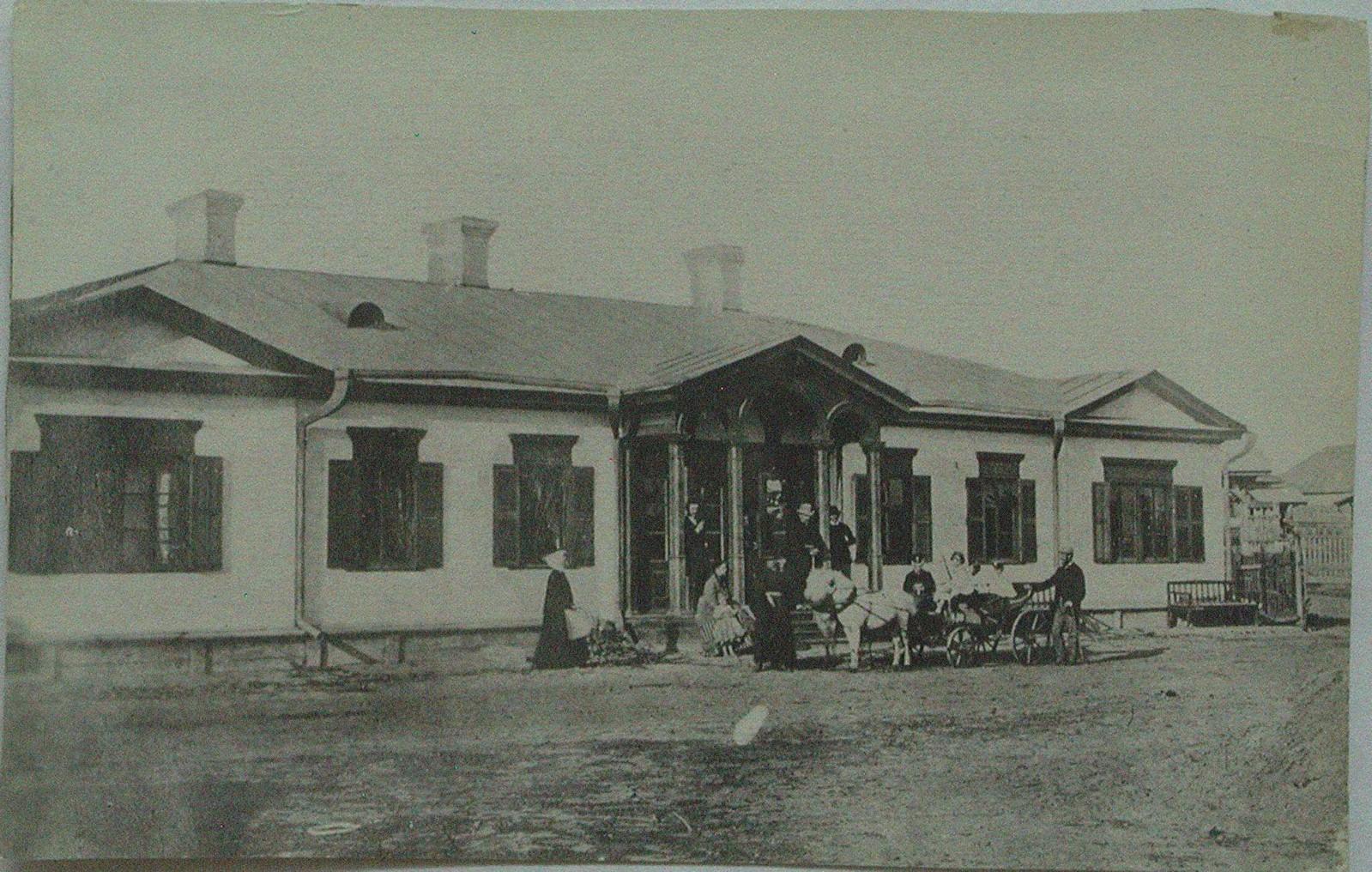 1875. Гостевой дом в имении Давыдовых, в котором любил останавливаться композитор и где он работал в 1860-1870-х
