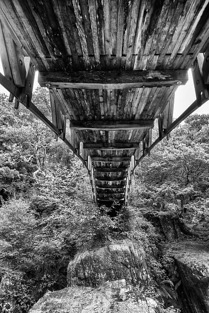 Shutdown Bracklinn Falls Bridge, Callander, Scotland