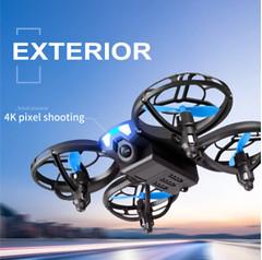 V8 New Mini Drone 4K 1080P Camera HD WiFi Fpv Air Pressure Height Maintain Foldable Quadcopter RC