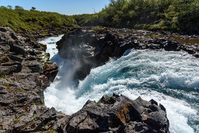 Iceland 2021 - Bruarfoss