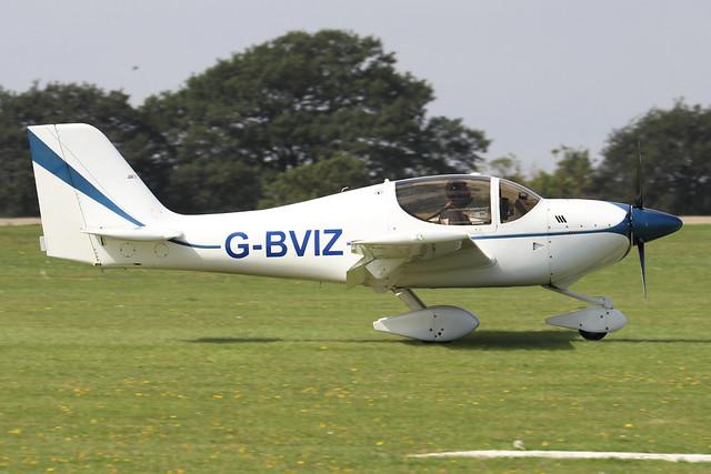 G-BVIZ  -  Europa Aviation Europa c/n PFA 247-12601  -  EGBK 3/9/21