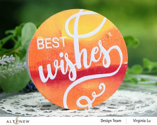 Altenew-Modern Wishes 3D Debossing Folder Modern Wishes