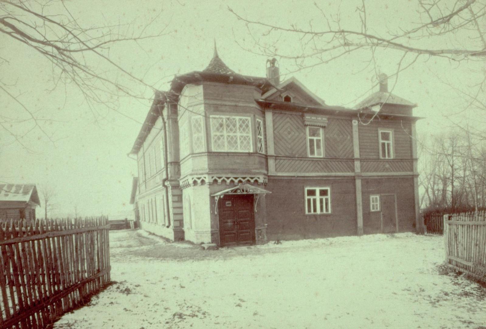 1894. Дом Чайковского в Клину, где он провел последние годы жизни