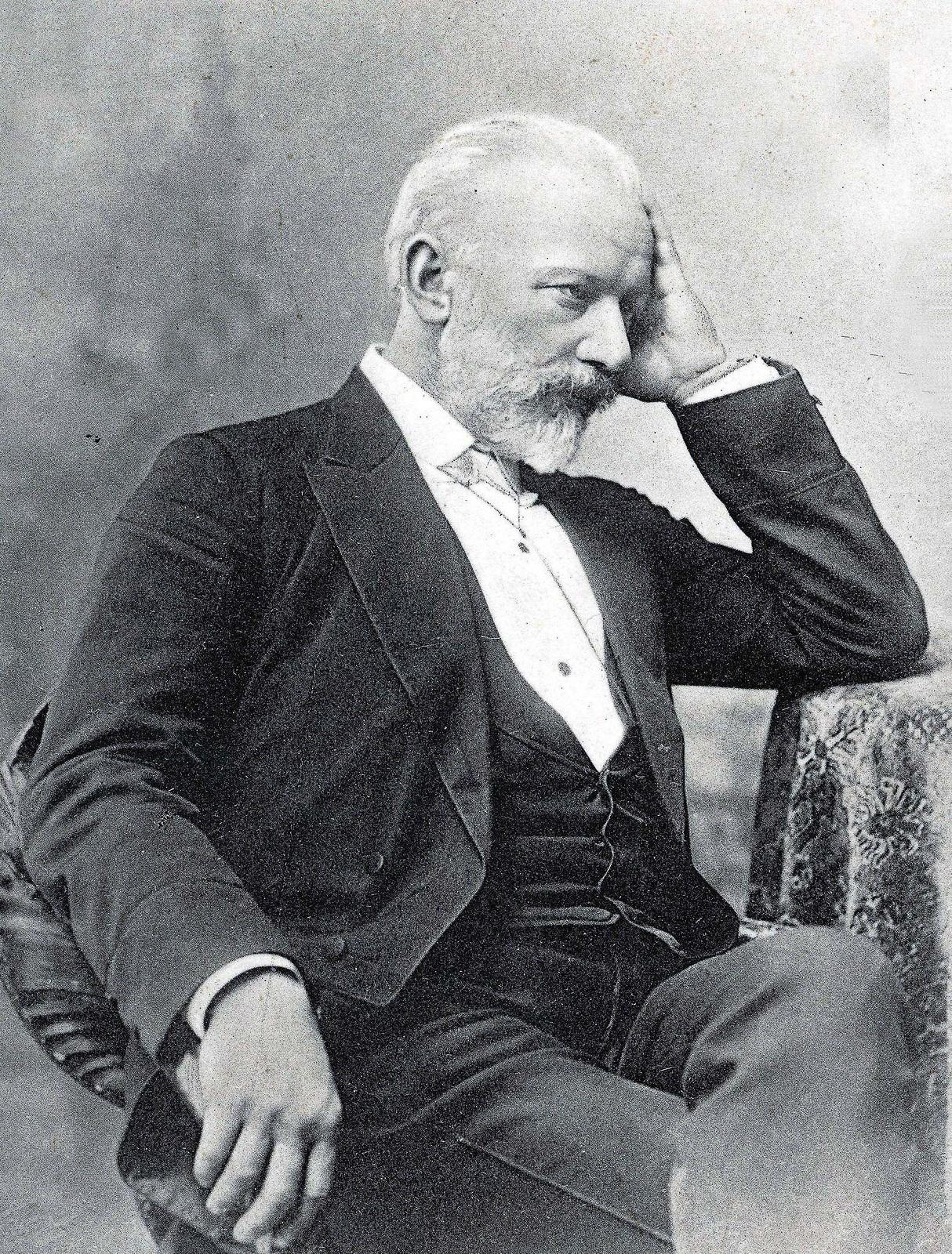 1892. Петр Ильич Чайковский