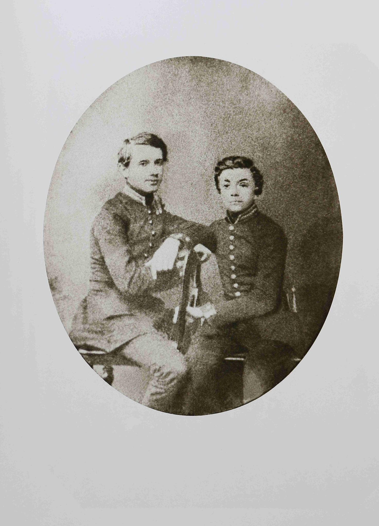 1859. Петр Ильич Чайковский (слева) и Владимир Герард. 29 мая
