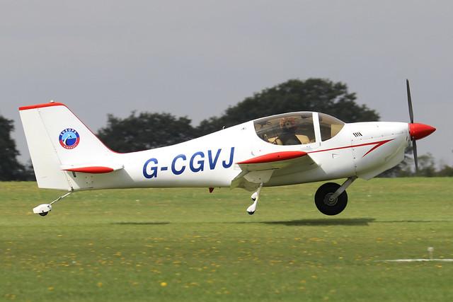 G-CGVJ  -  Europa Aviation Europa XS c/n PFA 247-13752  -  EGBK 3/9/21