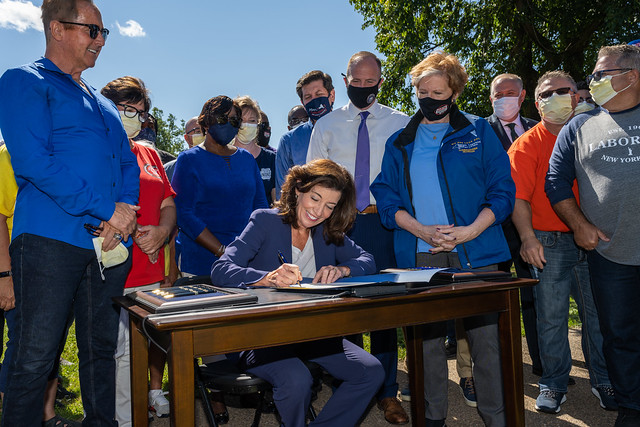 On Labor Day, Governor Signs Legislation to Boost Workplace Safety and Put More Money in Workers' Pockets