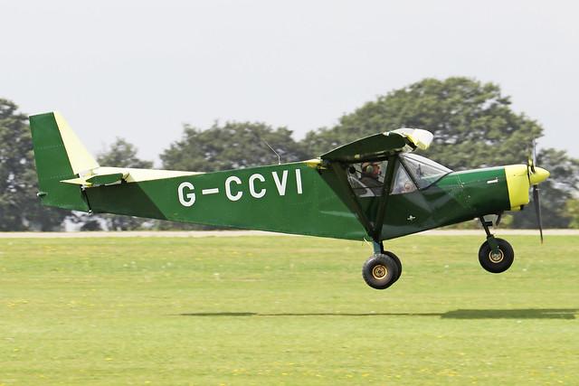 G-CCVI  -  Zenith Zenair STOL CH 701 c/n PFA 187-14181  -  EGBK 3/9/21