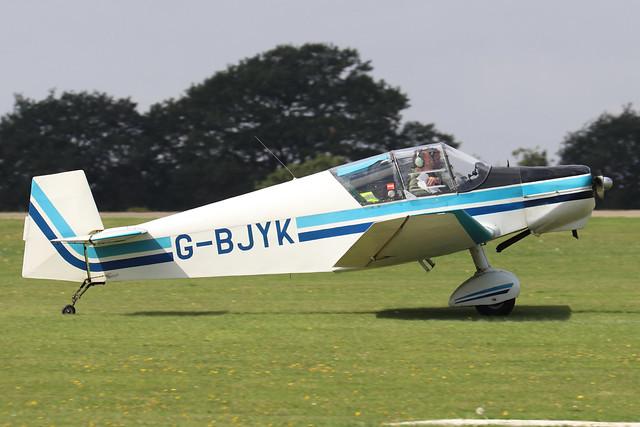 G-BJYK  -  Wassmer Jodel D.120 A c/n 185  -  EGBK 3/9/21