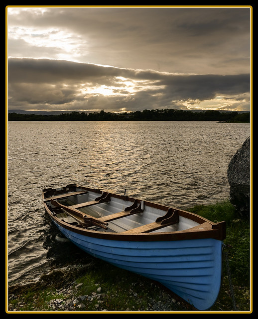 Irish Sunset, Lough Mask, Co. Mayo