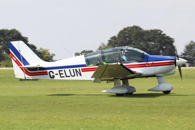 G-ELUN Robin DR.400 180R Remorqueur c/n 1102  -  EGBK 3/9/21