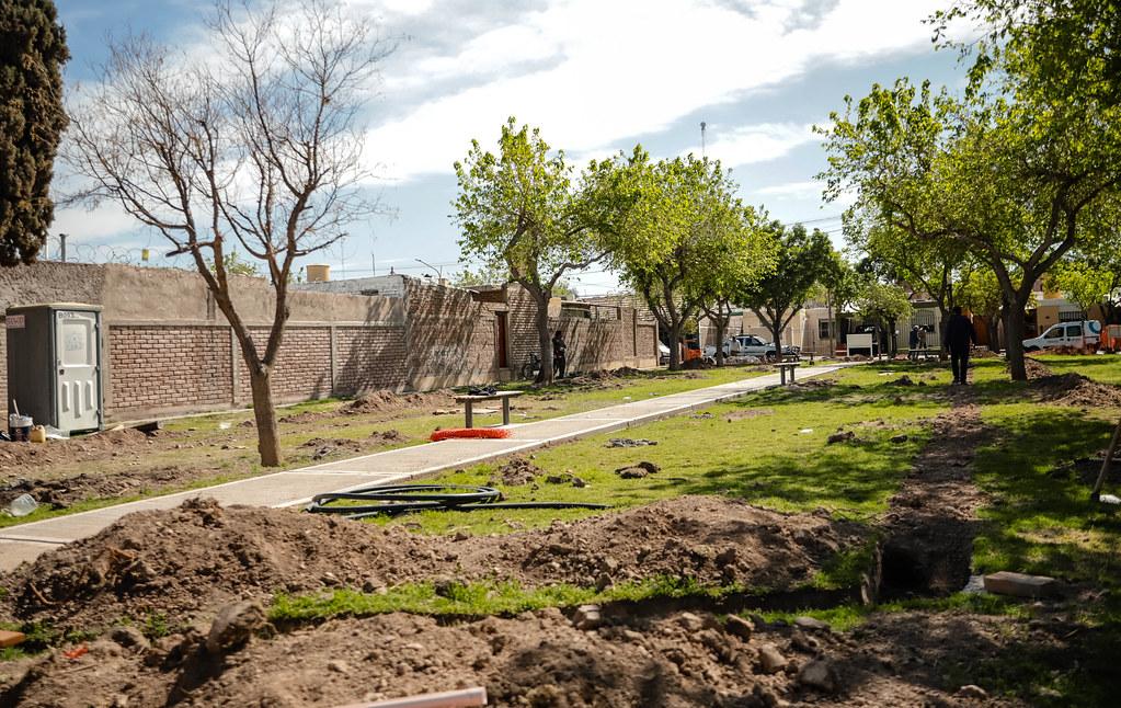 2021-09-06 Barrio Santa Cecilia- remodelación plaza
