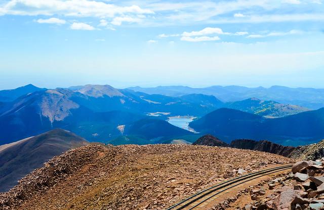 Pikes Peak Cog Railway in Colorado Springs, Colorado