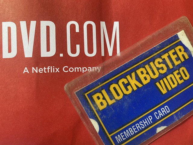 Netflix and Blockbuster Video
