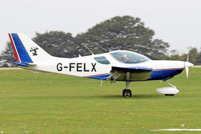 G-FELX  -  CZAW Sportcruiser c/n PFA 338-14661  -  EGBK 3/9/21