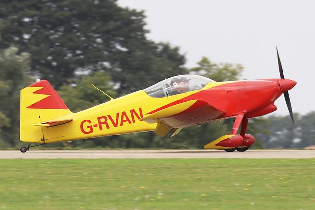 G-RVAN  -  Vans RV-6 c/n PFA 181-12657  -  EGBK 3/9/21