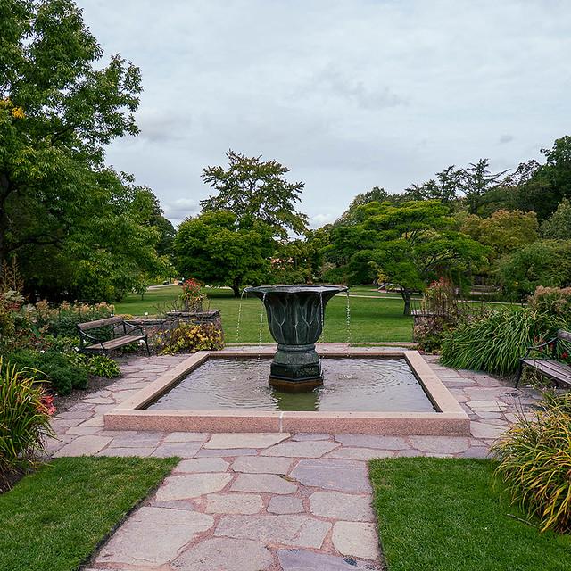 Fontain - Gothenburg Botanical Garden