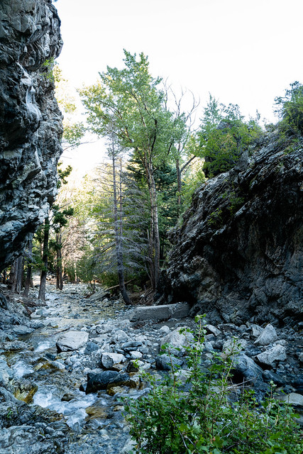 Zapata Falls Trail, Colorado