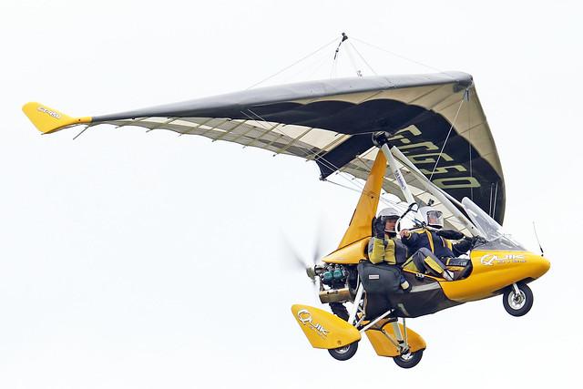 G-CGSO  -  P & M Aviation Quik GT450 c/n 8540  -  EGBK 3/9/21