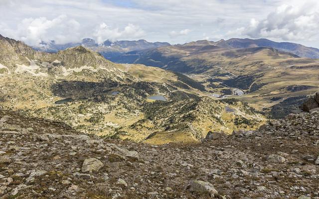 Els Pessons desde el Pic de Montmalús 2781m, Andorra
