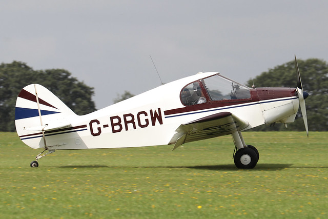 G-BRGW  -  Gardan Minicab JB-01 c/n PFA 1823  -  EGBK 3/9/21