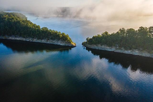 Cut-thru at Green River Lake