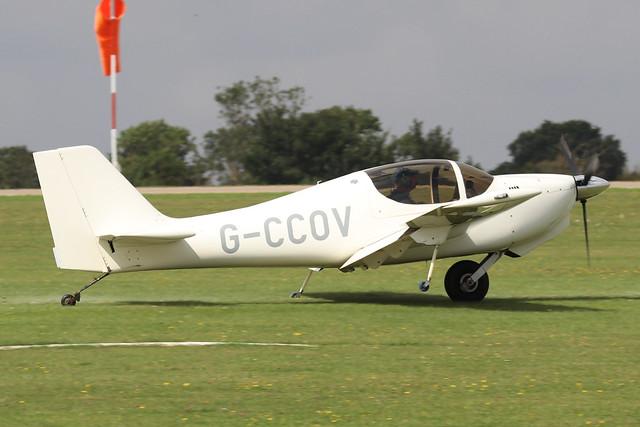 G-CCOV  -  Europa Aviation Europa XS c/n PFA 247-13998  -  EGBK 3/9/21
