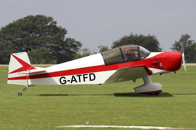 G-ATFD  -  C.E.A. Jodel DR.1050 c/n 311  -  EGBK 3/9/21