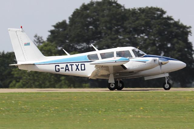 G-ATXD  -  PA-30 160 Twin Comanche B c/n 30-1166  -  EGBK 3/9/21
