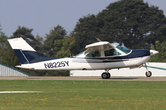 N8225Y  -  Cessna 177RG Cardinal c/n 177RG-1247  -  EGBK 5/9/21