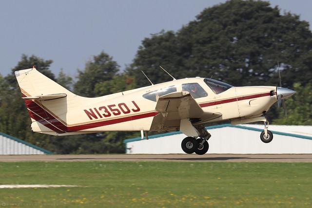 N1350J  -  Rockwell R112B Commander c/n 516  -  EGBK 5/9/21