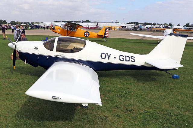 OY-GDS  -  Europa Classic c/n 9406  -  EGBK 3/9/21