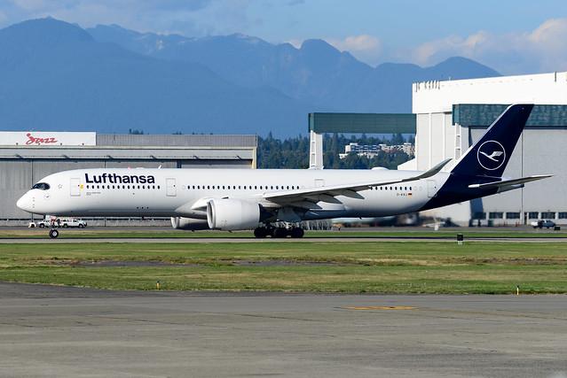 CYVR - Lufthansa A350-941 D-AIXJ
