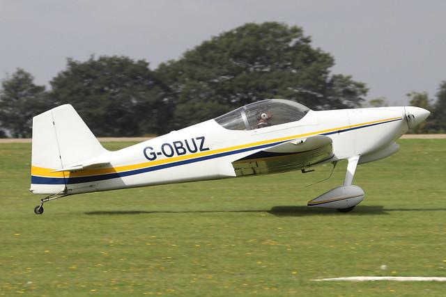 G-OBUZ  -  Vans RV-6 c/n 20410  -  EGBK 3/9/21