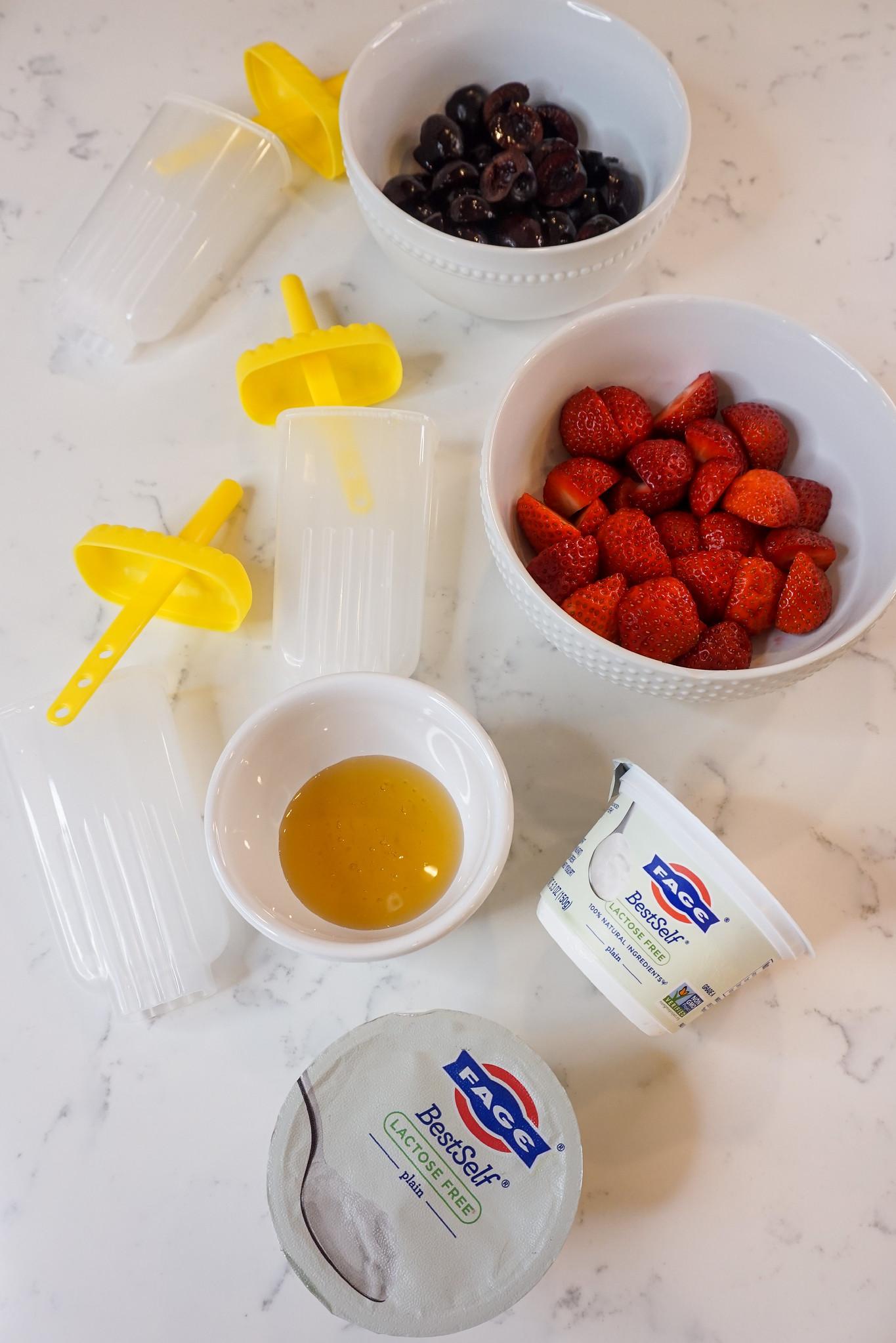 Yogurt Ice Pop Ingredients