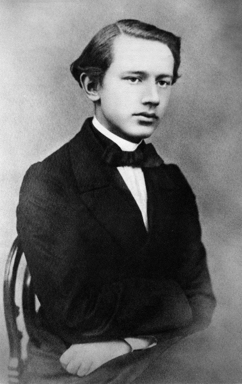 1863. П.И.Чайковский