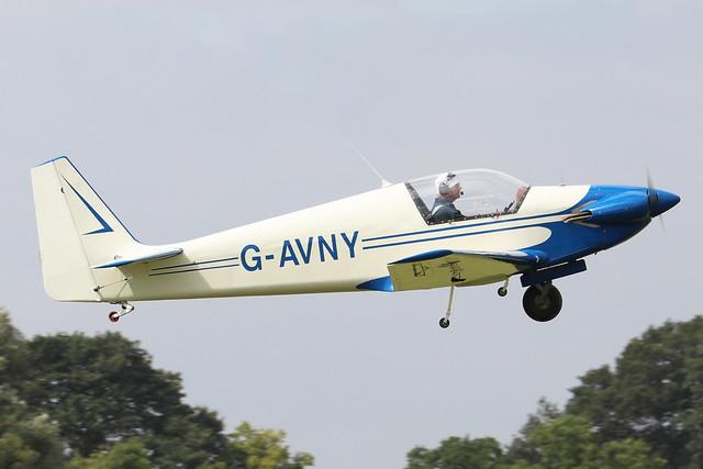 G-AVNY  -  Sportavia-Putzer RF-4 D c/n 4029  -  EGBK 3/9/21
