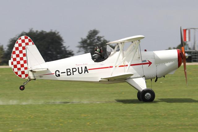 G-BPUA  -  EAA Biplane P2 c/n SAAC-02  -  EGBK 3/9/21