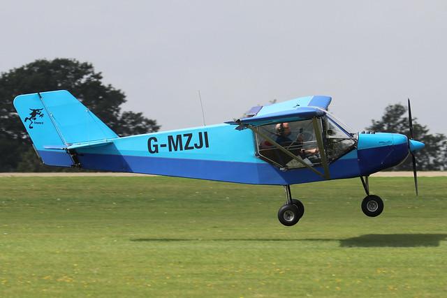 G-MZJI  -  RANS S6-ESD Coyote II c/n PFA 204-13221  -  EGBK 3/9/21