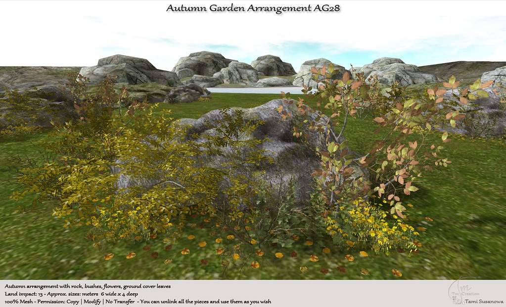 .:Tm:.Creation Autumn Garden Arrangement AG28