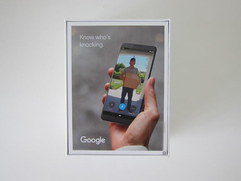 Nest Doorbell (Wired) - Box Back