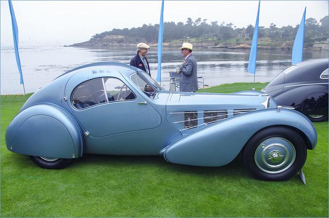 Bulbous Bugatti Type 57SC Atlantic