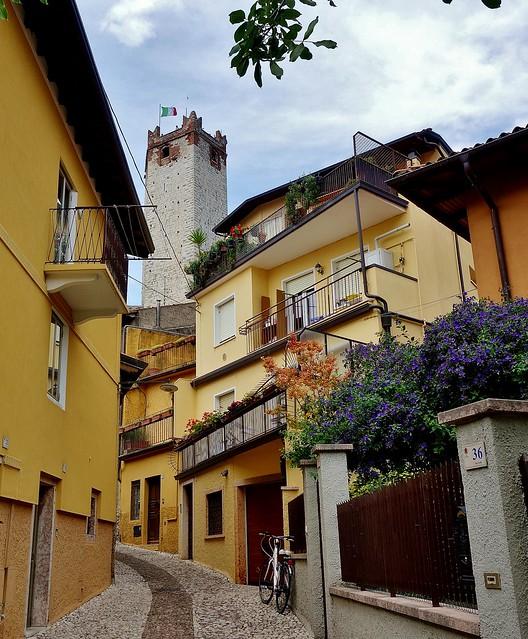 Italien, Italy,  In Malcesine(TN) am Gardasee, 79186/20012