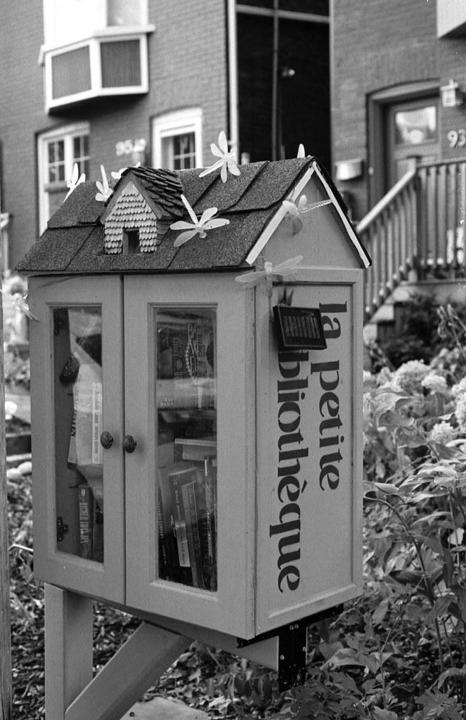 Upper Beach Tiny Library