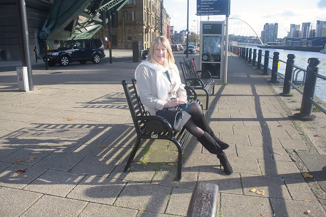 On the Quayside at Newcastle