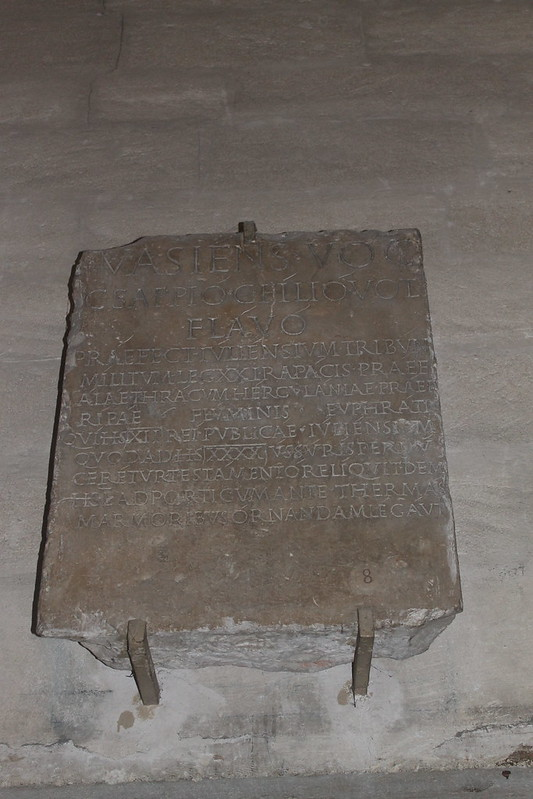 Honourific Inscription of C. Sappius Flavus