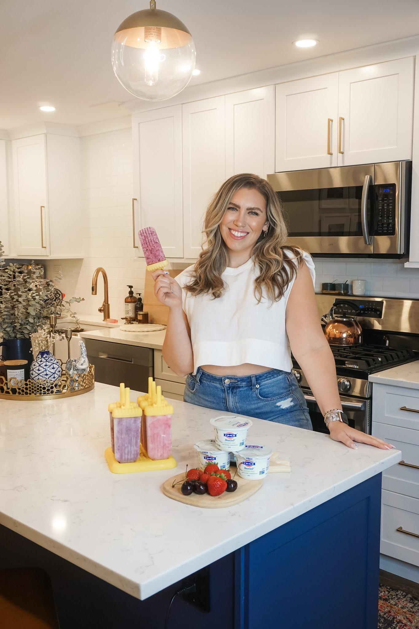 Easy Yogurt Ice Pop Recipe | How to Make Yogurt Ice Pops
