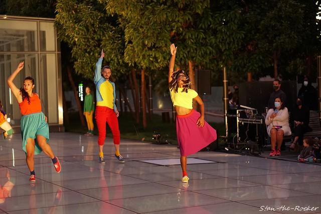 Salesforce Transit Center Park - Performance of 'Portal' - 090521 - 04